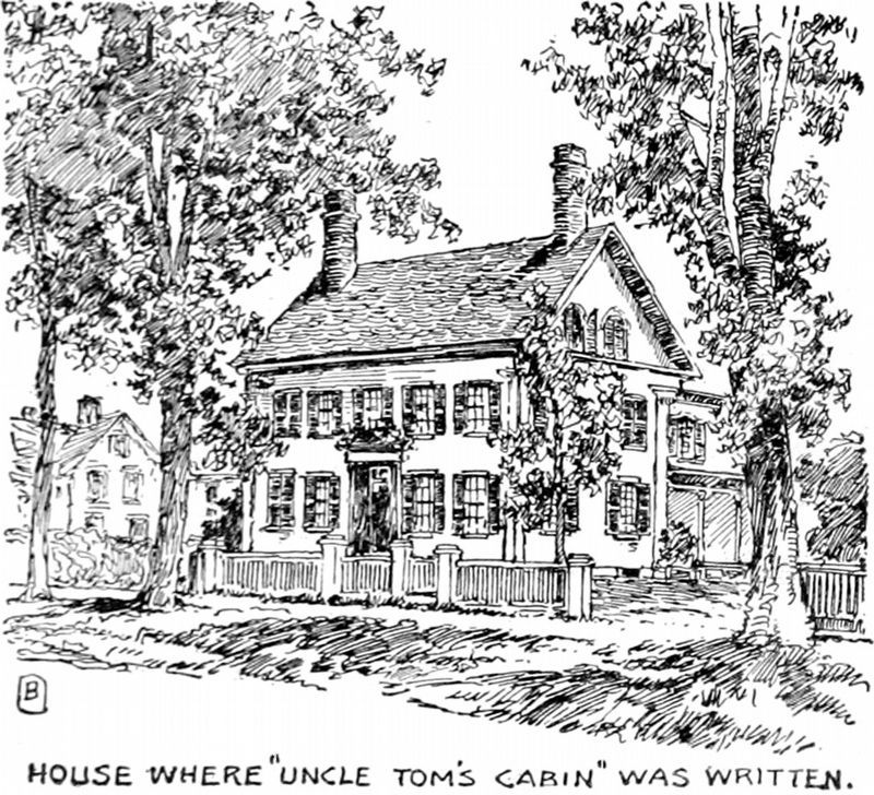 "House where ""Uncle Tom's Cabin"" was written image. Click for full size."