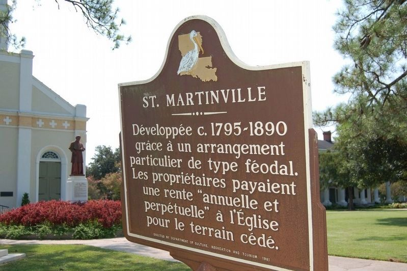 St. Martinville Marker image. Click for full size.