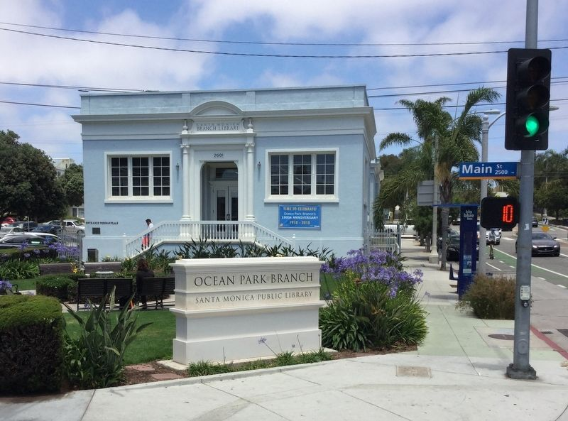 Ocean Park Branch Library image. Click for full size.