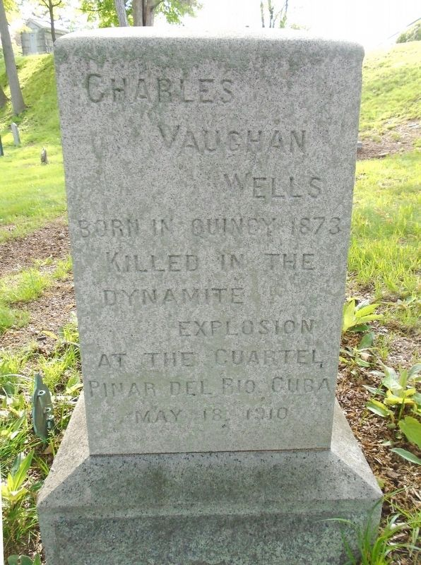 Charles Vaughan Wells Marker image. Click for full size.