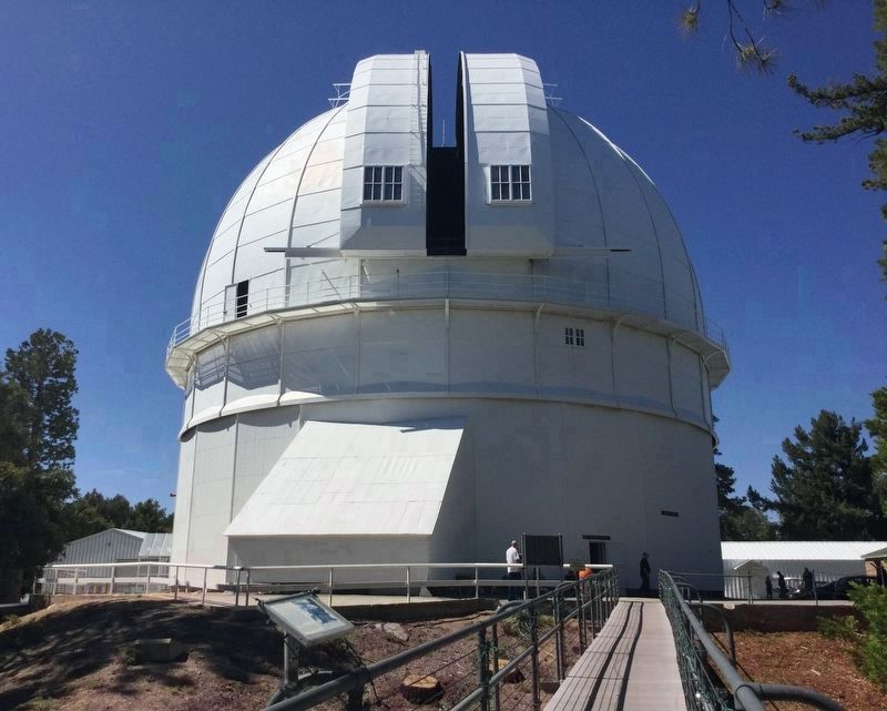 100 Inch Telescope Dome image. Click for full size.