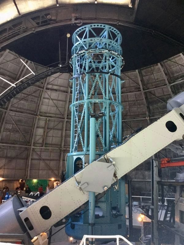 100 Inch Telescope image. Click for full size.