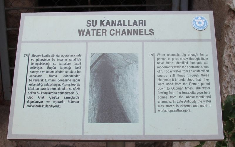 Water Channels Marker image. Click for full size.