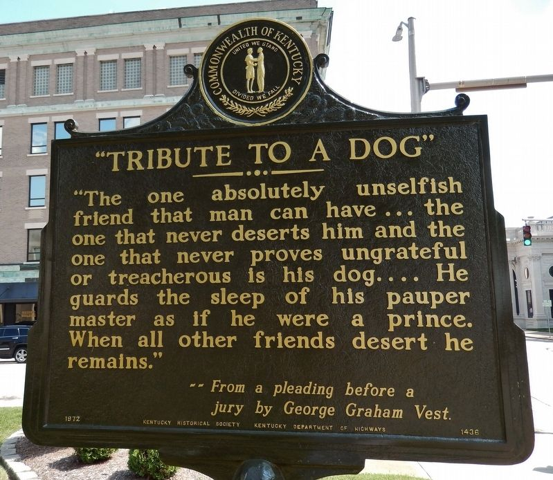 """Tribute to a Dog"" (<i>side 2</i>) image. Click for full size."