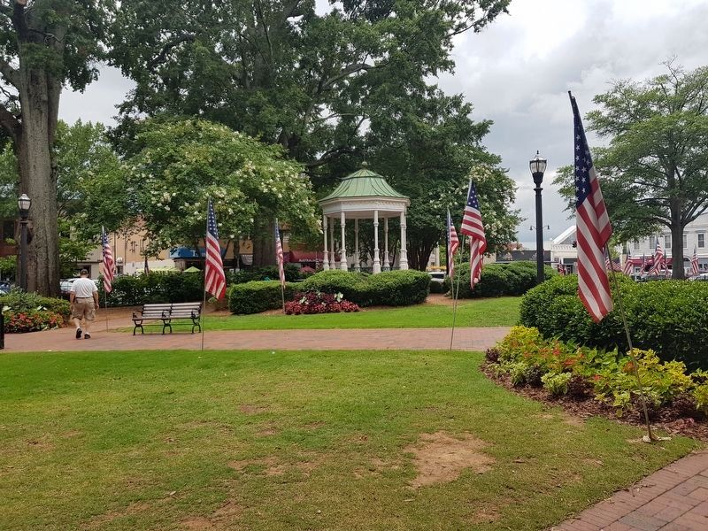 An additional view of Glover Park and its gazebo image. Click for full size.