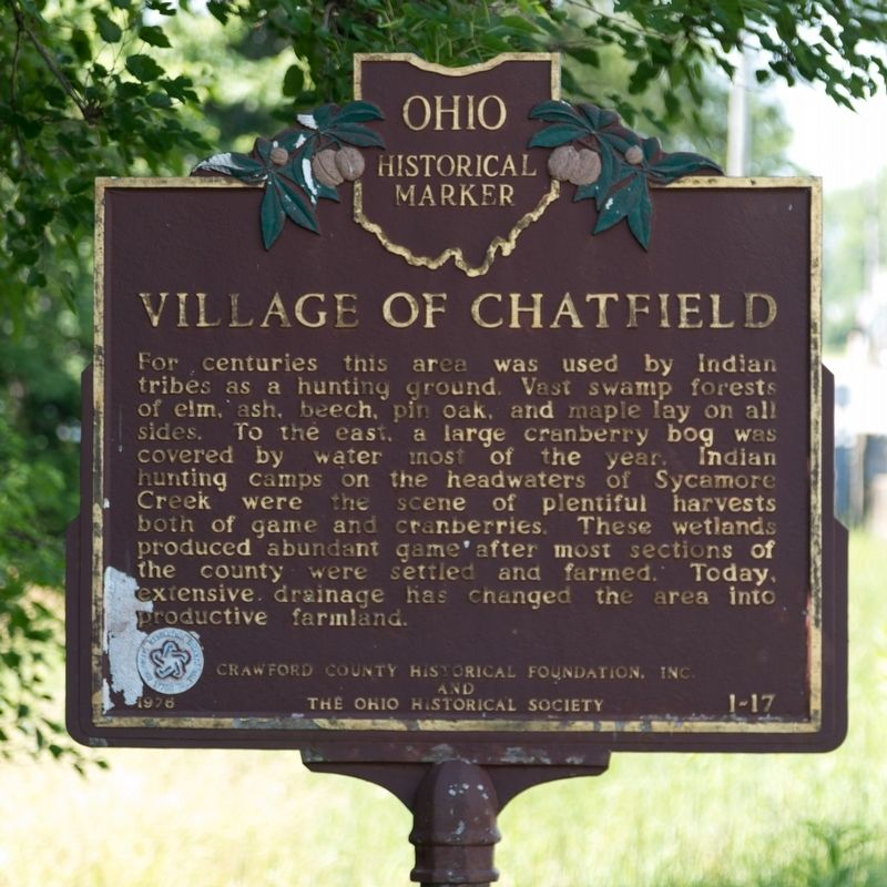 Village of Chatfield Marker image. Click for full size.