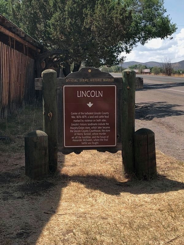 Lincoln Marker image. Click for full size.