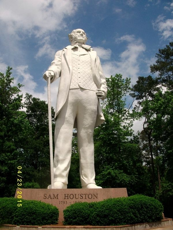 Sam Houston Statue image. Click for full size.