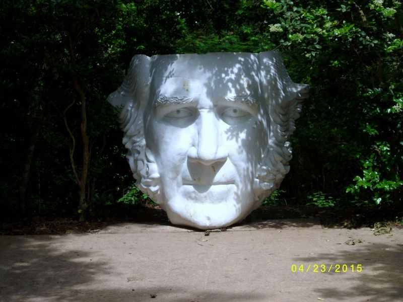 "Sam Houston ""Head"" Statue image. Click for full size."