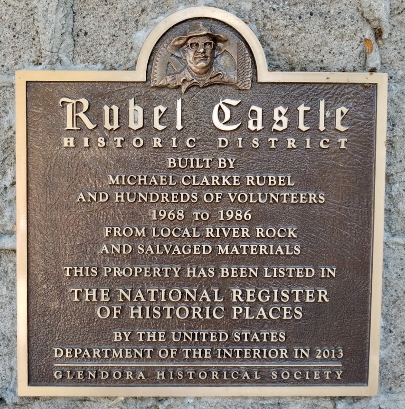 Rubel Castle Marker