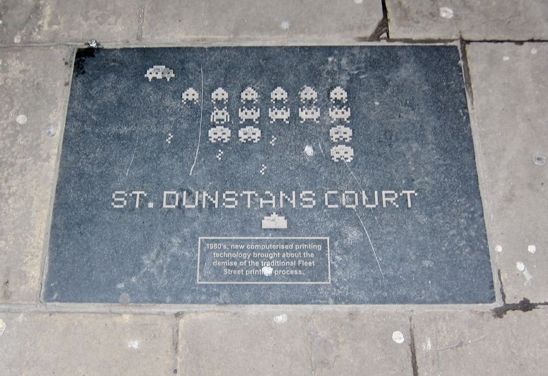 St. Dunstan's Court Marker image. Click for full size.