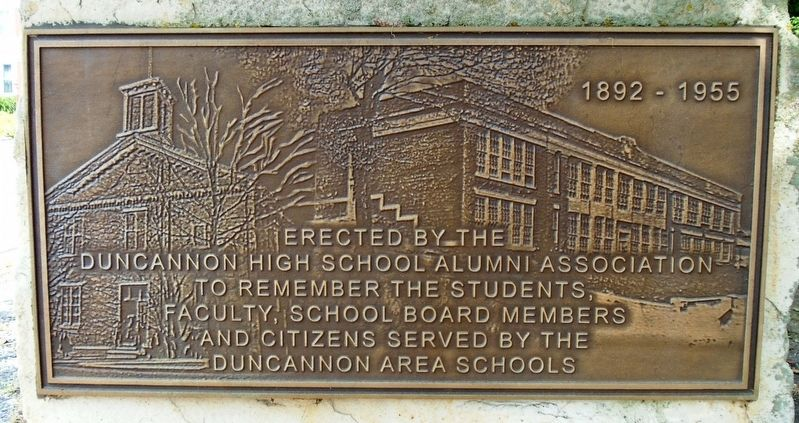 Duncannon Area Schools Marker image. Click for full size.