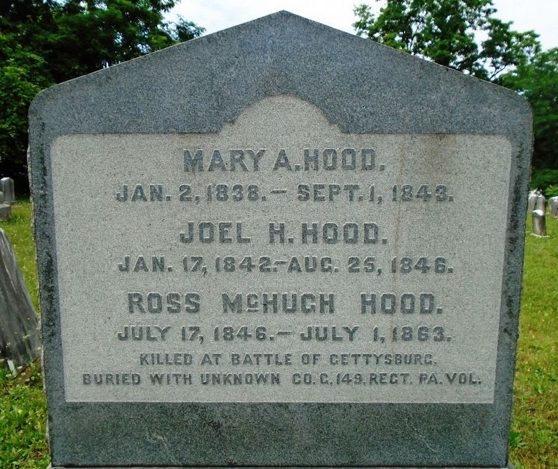 Ross McHugh Hood Marker image. Click for full size.