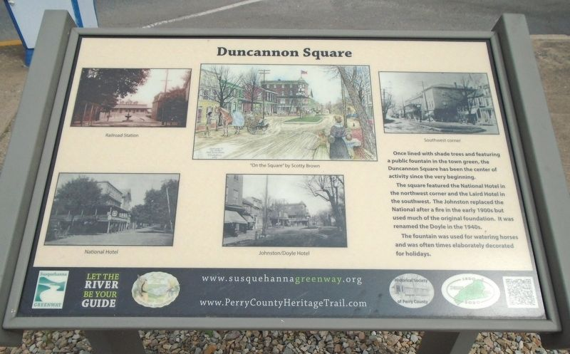 Duncannon Square Marker image. Click for full size.