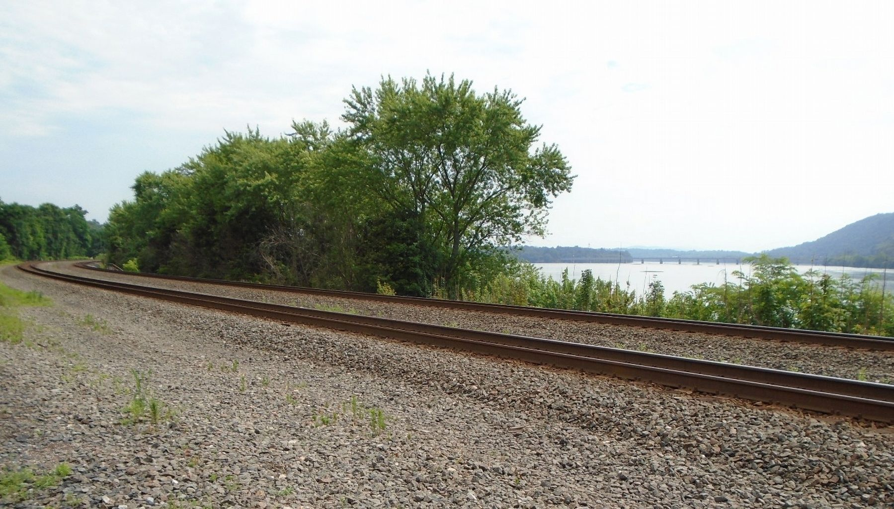 Railroad Tracks in Duncannon image. Click for full size.