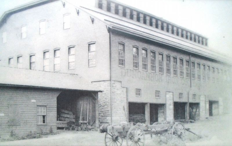 Photo of Duncannon Iron Works on Marker image. Click for full size.
