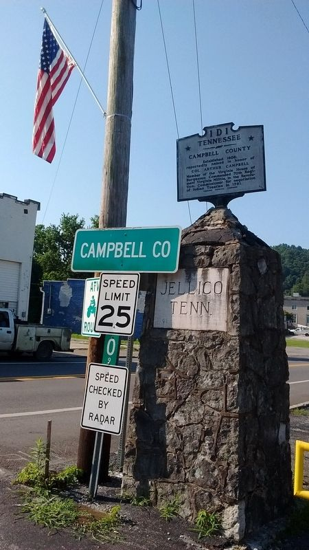 Campbell County / Kentucky Marker image. Click for full size.