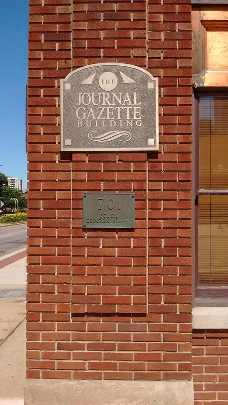 Journal Gazette Building image. Click for full size.