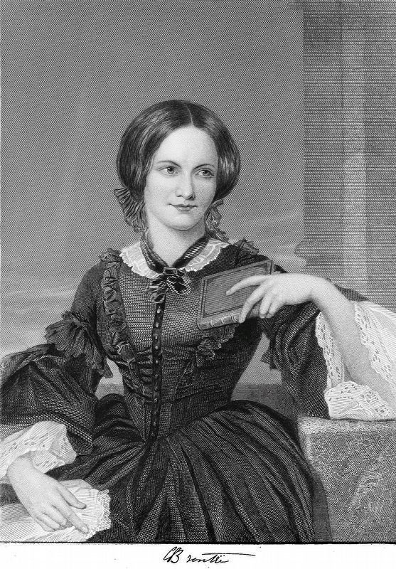 Charlotte Bronte image. Click for full size.