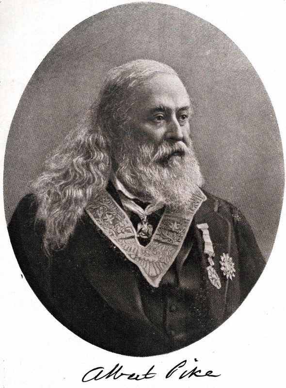 Albert Pike image. Click for full size.