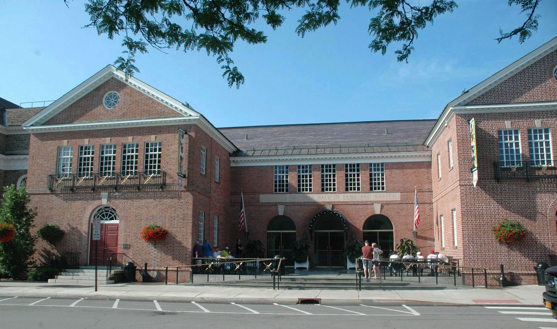National Baseball Hall of Fame, Cooperstown, NY image. Click for full size.