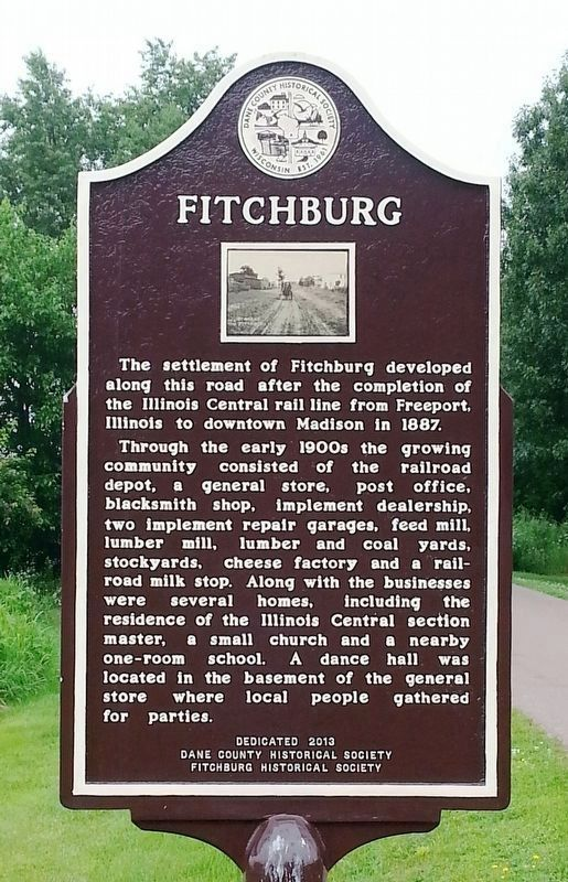 Fitchburg Marker image. Click for full size.