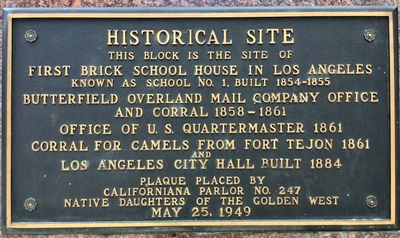 Historical Site Marker image. Click for full size.