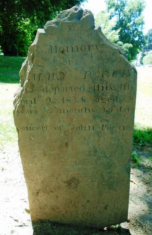 German Reformed and Lutheran Congregations Cemetery Headstone image. Click for full size.