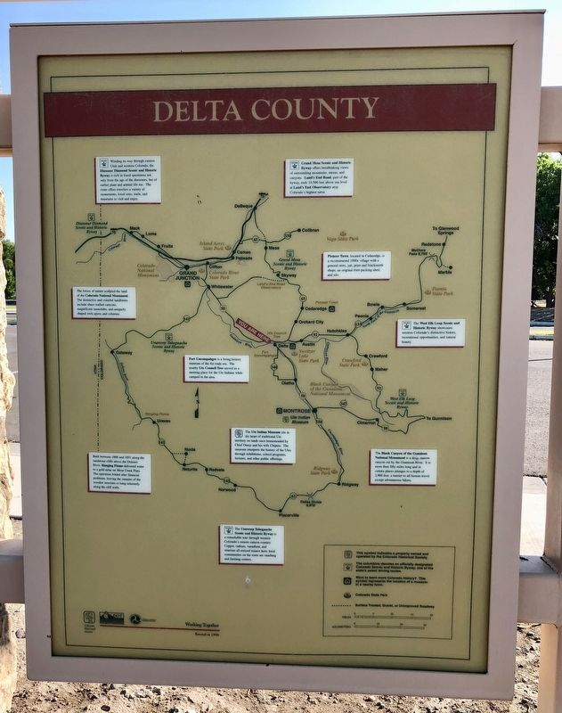 Delta County Marker image. Click for full size.