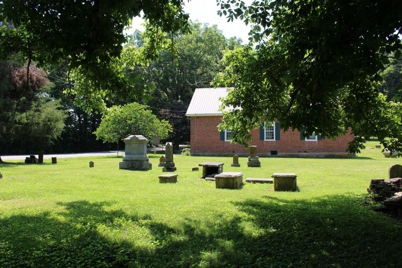 McCormack Christian Church and Cemetery image. Click for full size.