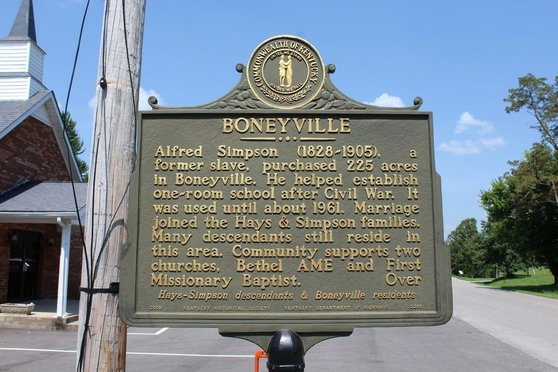 Boneyville Marker (Side 2) image. Click for full size.