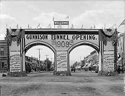 The Gunnison Tunnel Welcome Arch