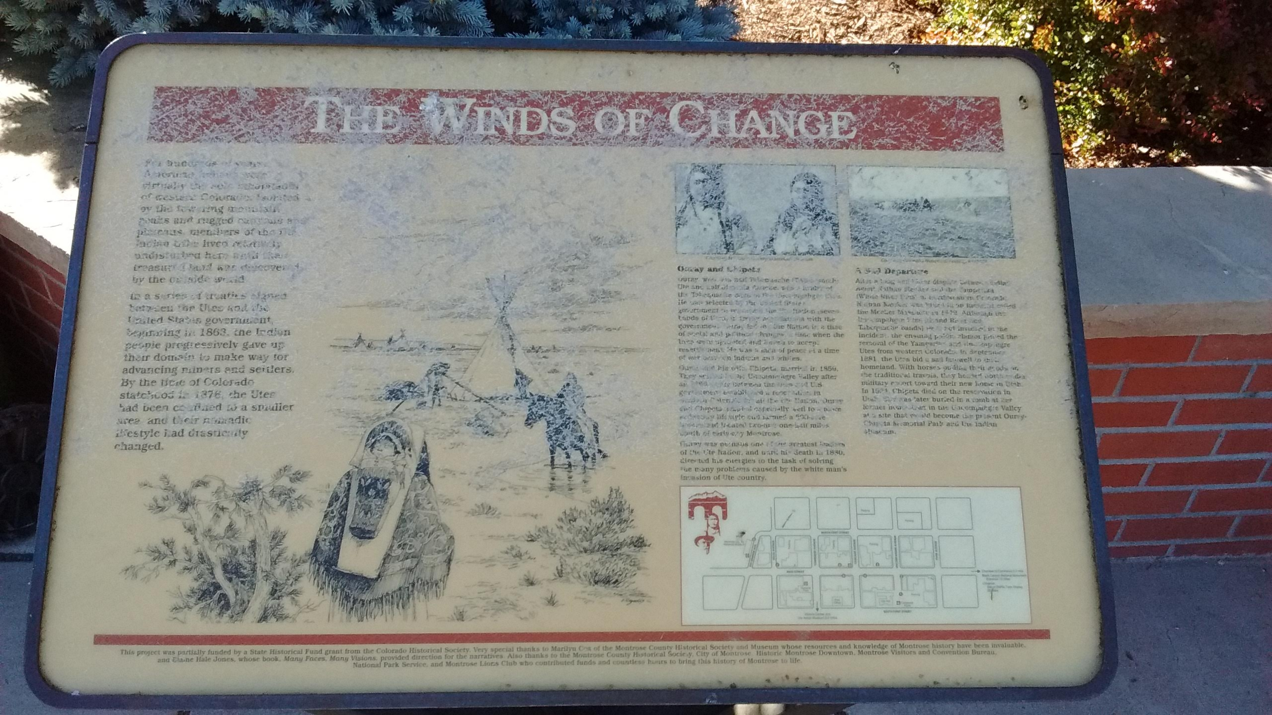 The Winds of Change Marker