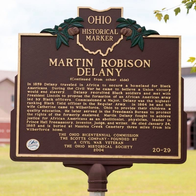 Martin Robison Delany Marker, Side Two image. Click for full size.