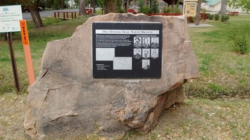 Old Spanish Trail North Branch Marker image. Click for full size.