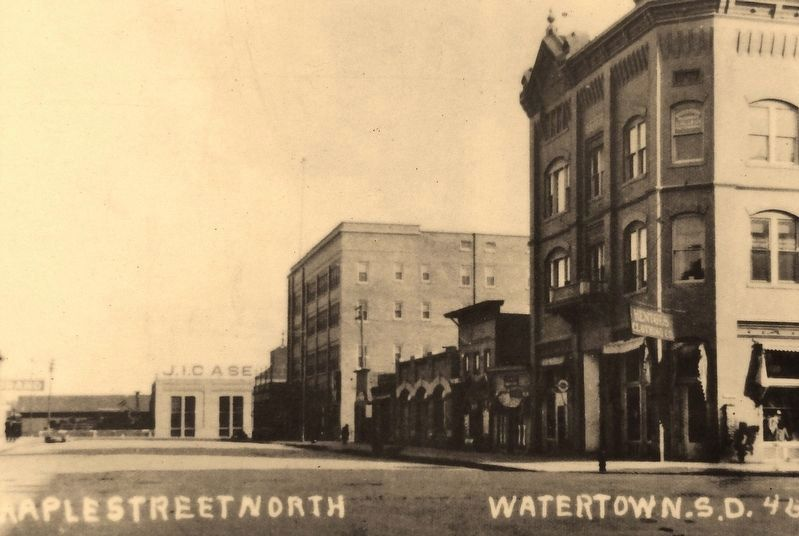 Marker photo 3: East side of Maple Street looking north from Kemp Avenue image. Click for full size.