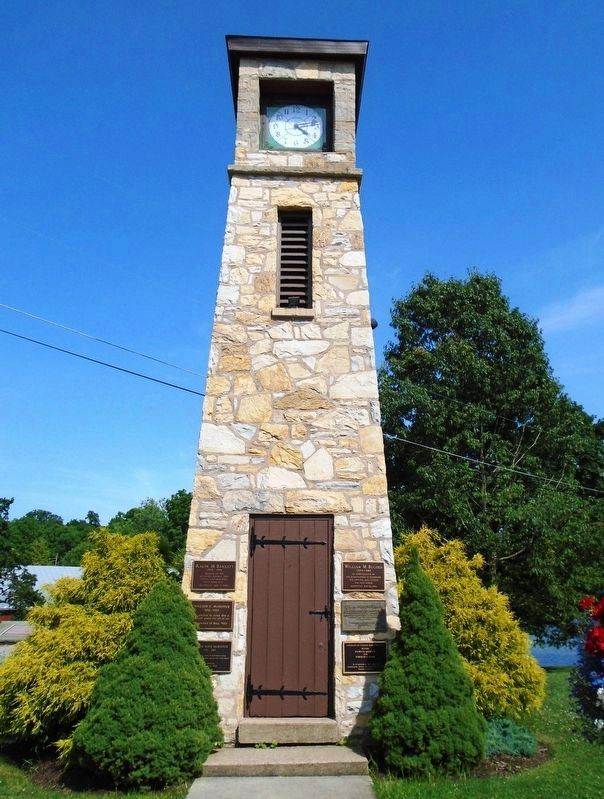 Cumberland County Veterans Memorial Clock Tower image. Click for full size.