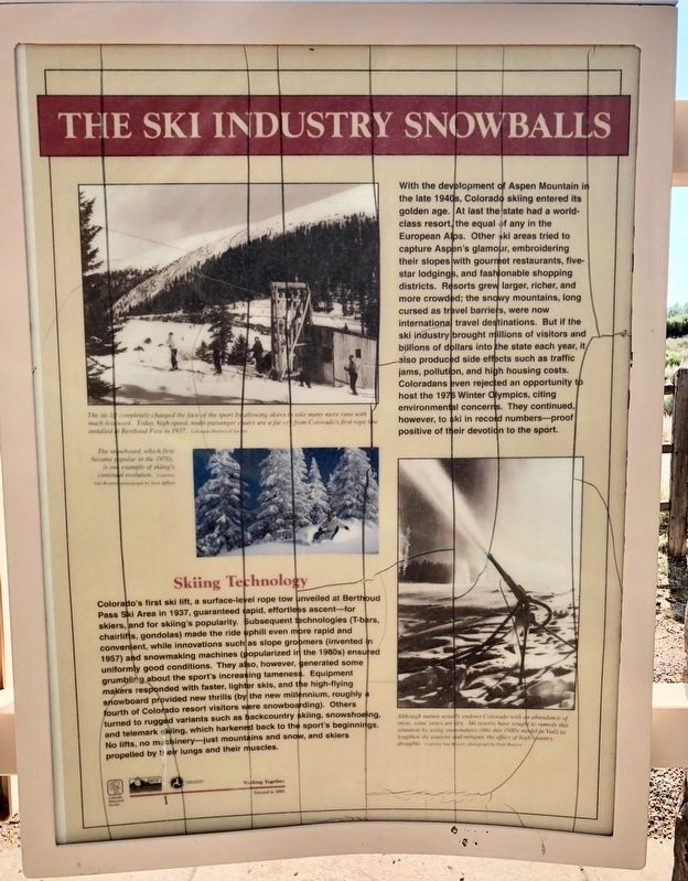 The Ski Industry Snowballs Marker image. Click for full size.