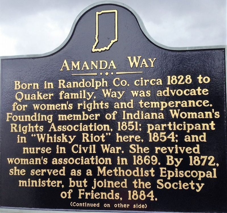Amanda Way Marker image. Click for full size.