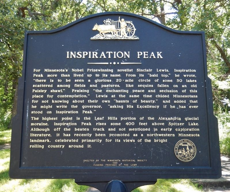Inspiration Peak Marker image. Click for full size.