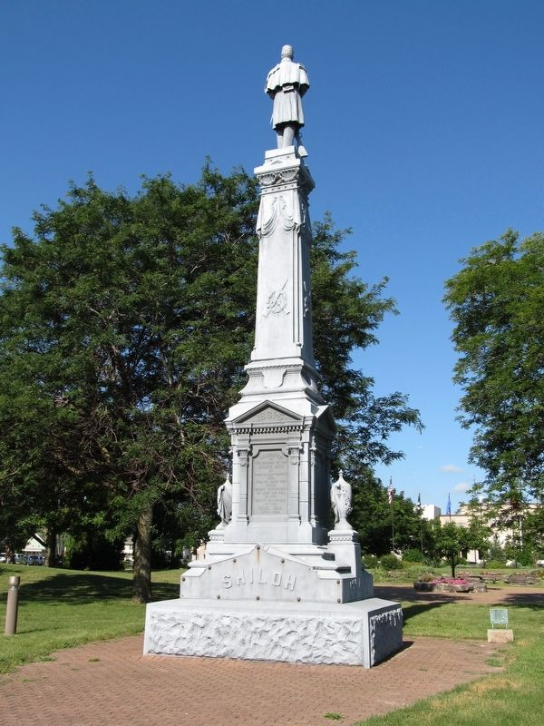 Union Soldiers Monument Marker image. Click for full size.
