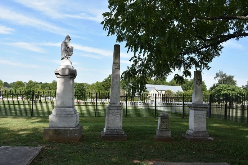 McGavock Family Cemetery Tombstones image. Click for full size.