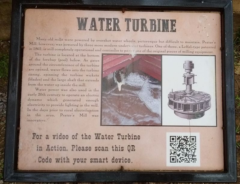 Water Turbine Marker image. Click for full size.