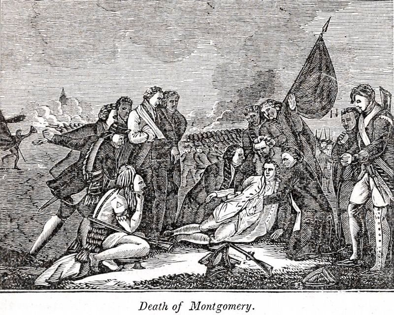 Death of Montgomery image. Click for full size.