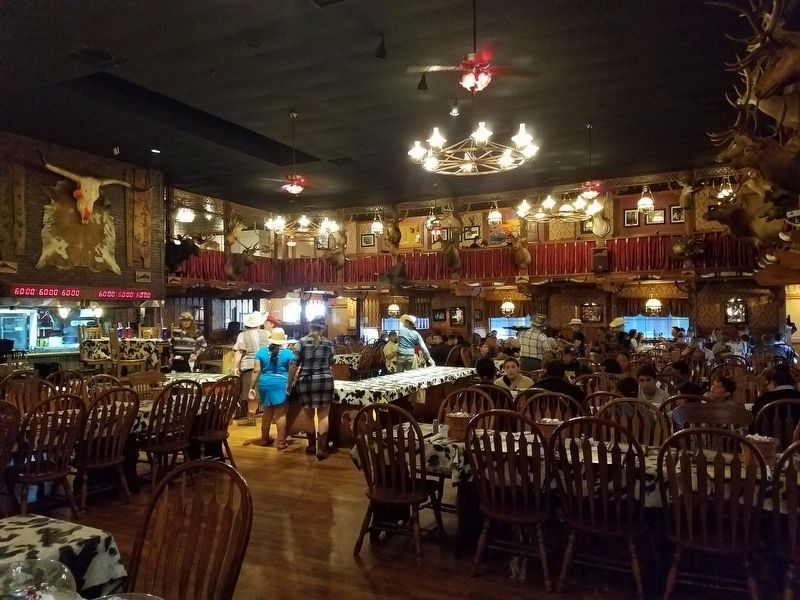 Dinning Room of The Big Texan image. Click for full size.