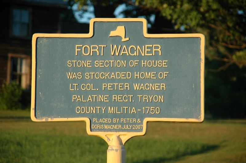 Fort Wagner Marker image. Click for full size.
