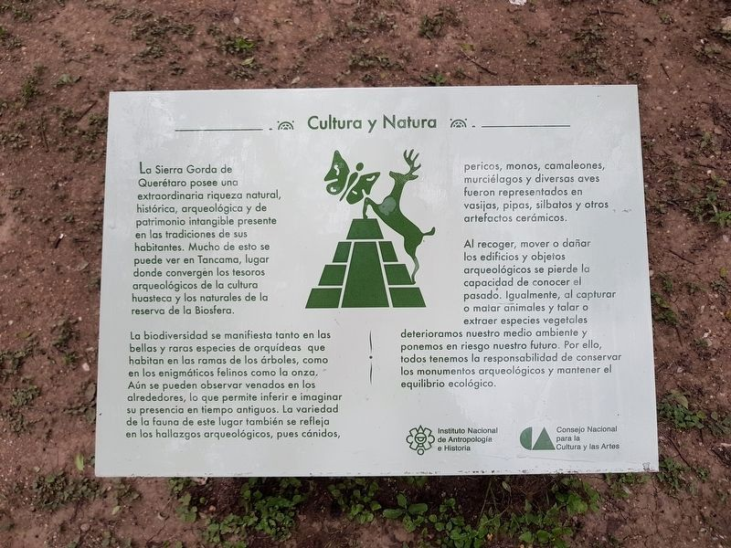 An additional nearby marker on Nature and Culture image. Click for full size.