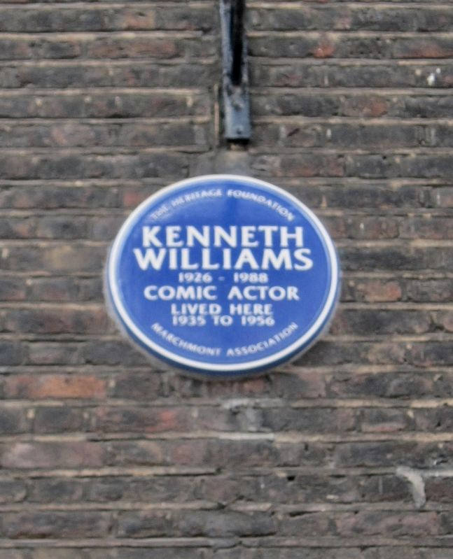 Kenneth Williams Marker image. Click for full size.