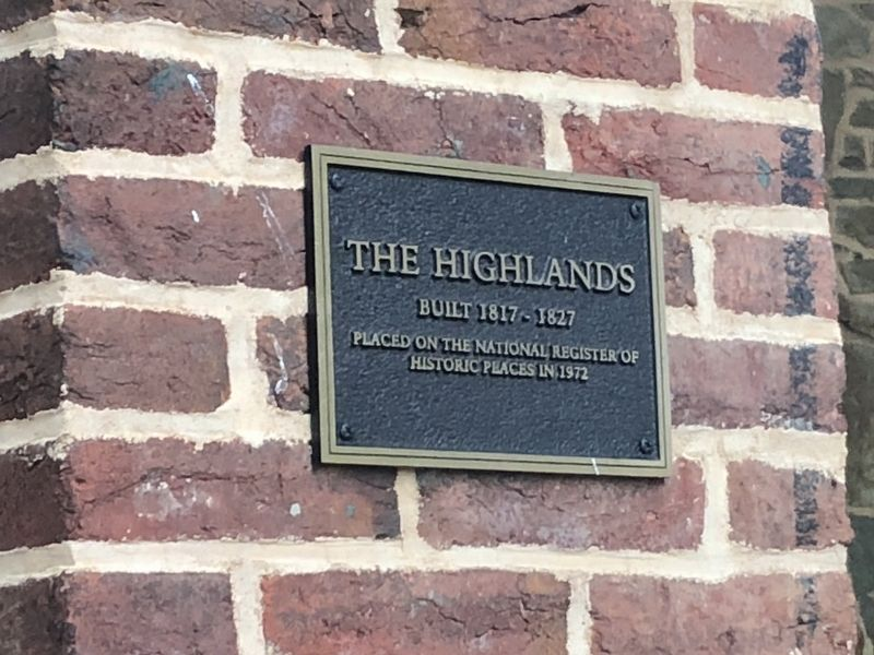 The Highlands Marker image. Click for full size.