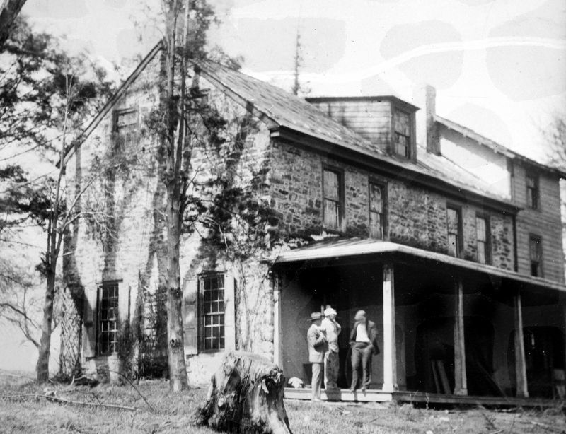 Benjamin Rush Birthplace,<br>Red Lion Road,<br>Philadelphia image. Click for full size.